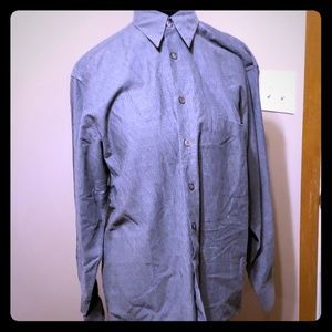 Hugo boss dress shirt grey long sleeve